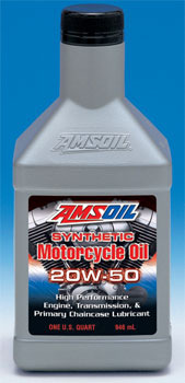 AMSOIL MCV Motorcycle Oil