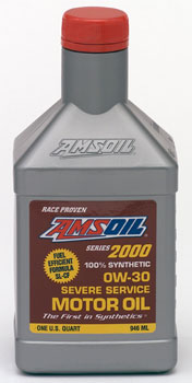 Amsoil Synthetic Motor Oil Series 2000 0w 30 Harley